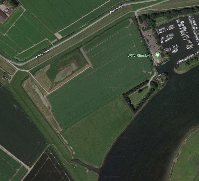 Locatie tien hectare nieuw natuurgebied